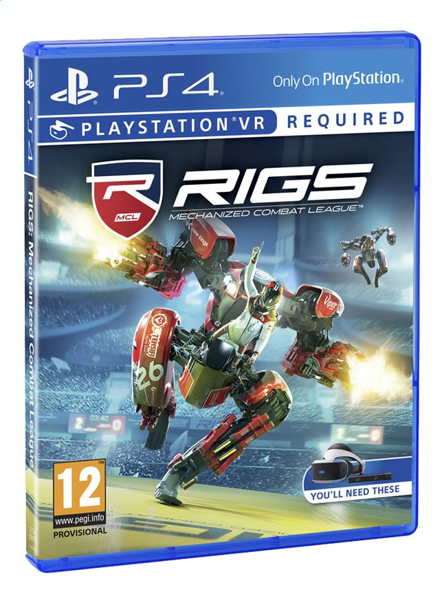 Afbeelding van PS4 VR Rigs Mechanized Combat League ENG/FR from DreamLand