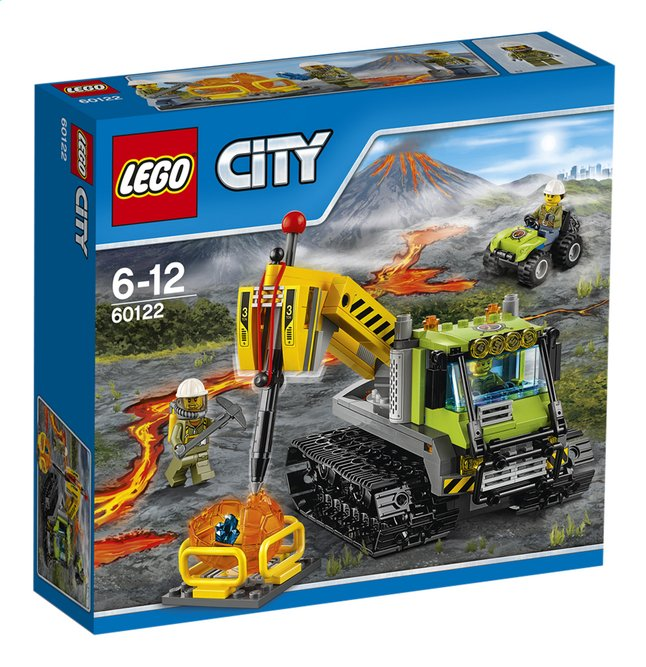 Afbeelding van LEGO City 60122 Vulkaan Crawler from DreamLand