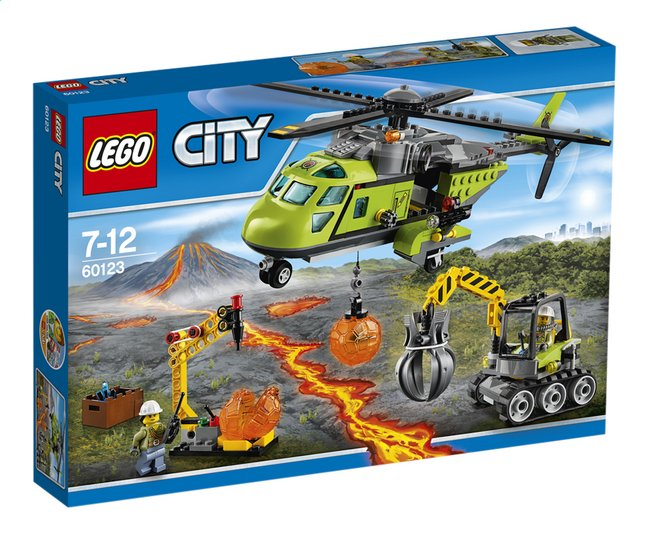 Image pour LEGO City 60123 L'hélicoptère d'approvisionnement du volcan à partir de DreamLand