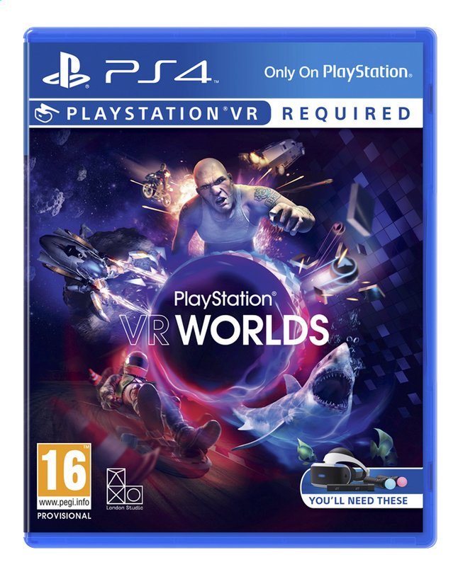 Afbeelding van PS4 VR Worlds ENG/FR from DreamLand