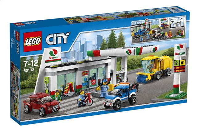 Afbeelding van LEGO City 60132 Benzinestation from DreamLand