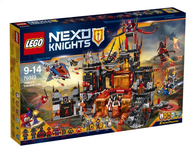 Afbeelding van LEGO Nexo Knights 70323 Jestro's vulkaanbasis from DreamLand
