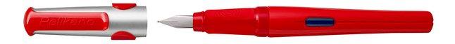 Afbeelding van Pelikan vulpen Pelikano P480 voor rechtshandigen rood from DreamLand