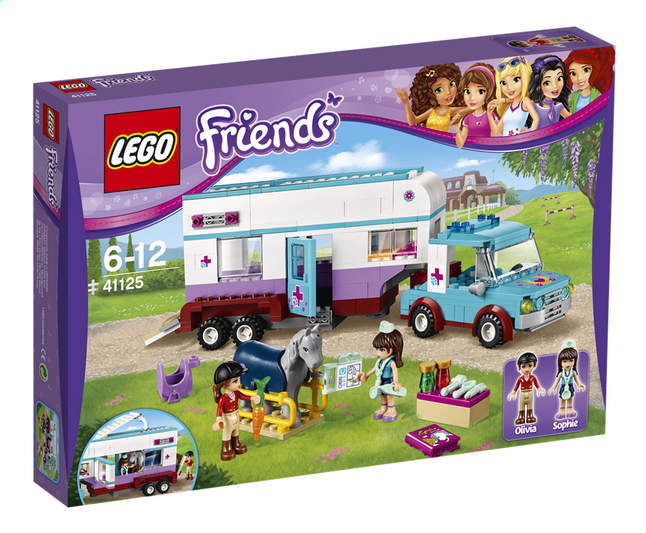 Afbeelding van LEGO Friends 41125 Paardendokter trailer from DreamLand
