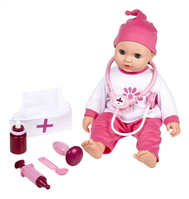 DreamLand zachte pop met doktersset Olivia is ziek