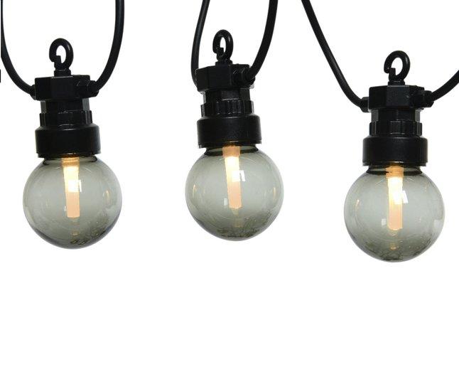 Afbeelding van Slingerverlichting led 20 lampjes rookglas from DreamLand