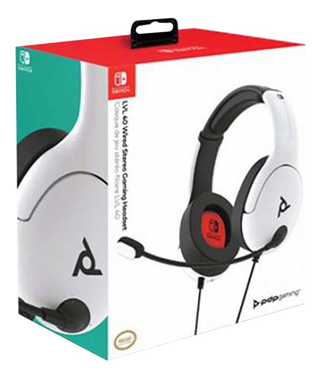Afbeelding van PDP Official Wired Headset LVL40 Switch wit from DreamLand
