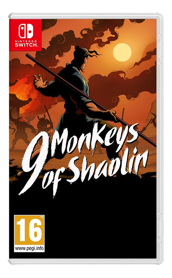 Nintendo Switch 9 Monkeys of Shaolin FR/ANG