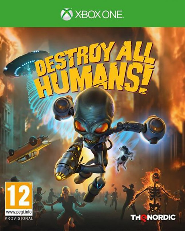 Xbox One Destroy All Humans! FR/ANG