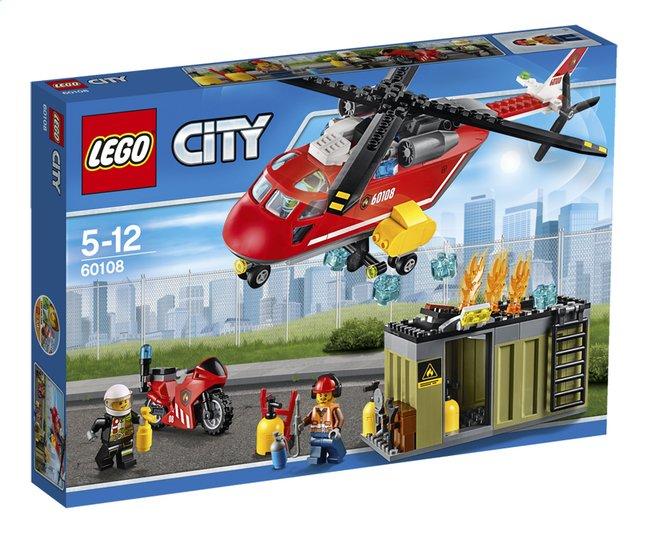 Image pour LEGO City 60108 L'unité de secours des pompiers à partir de DreamLand