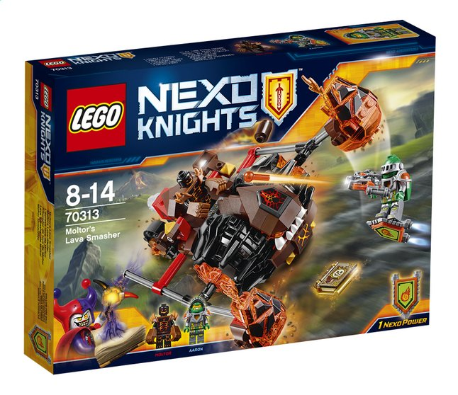 Afbeelding van LEGO Nexo Knights 70313 Moltor's Lavabeuker from DreamLand