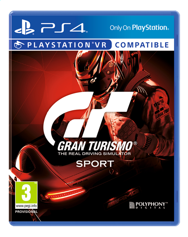 Afbeelding van PS4 Gran Turismo Sport  ENG/FR from DreamLand