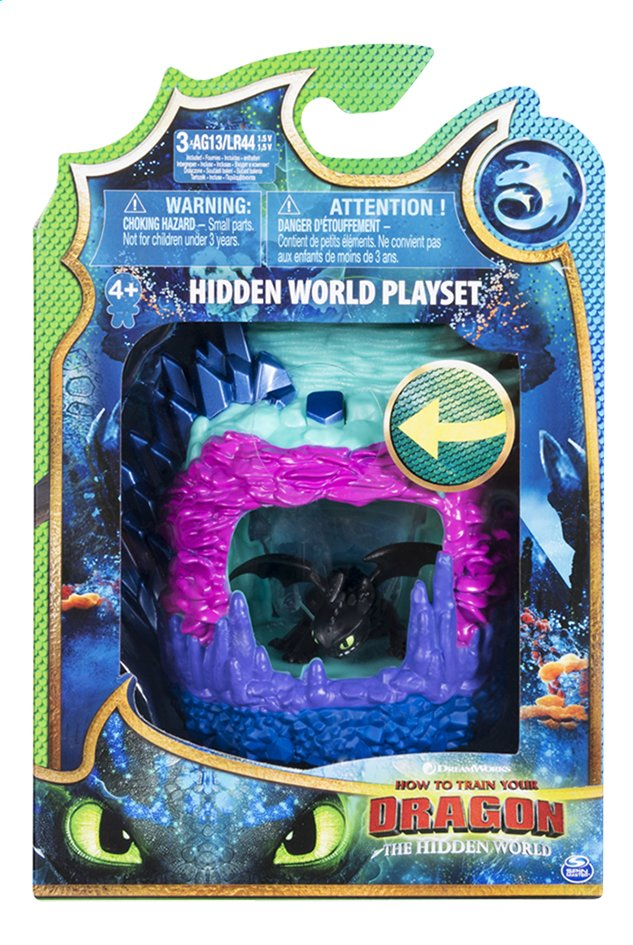 Afbeelding van Speelset How to Train Your Dragon 2 Hidden World - Toothless from DreamLand