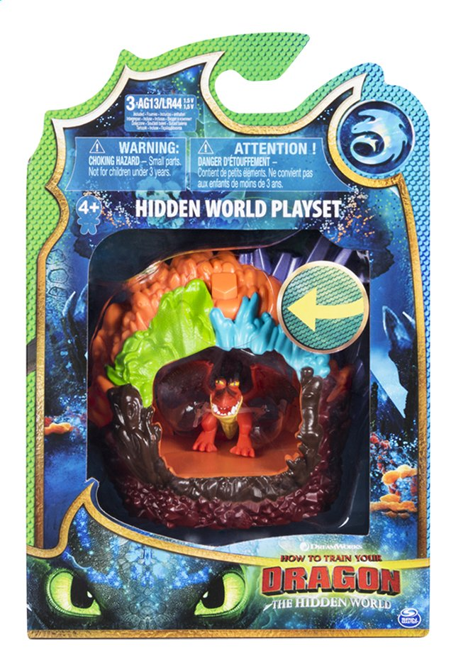 Afbeelding van Speelset How to Train Your Dragon 2 Hidden World - Hookfang from DreamLand