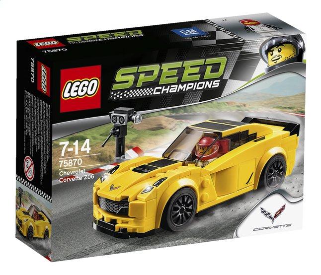 Afbeelding van LEGO Speed Champions 75870 Chevrolet Corvette Z06 from DreamLand