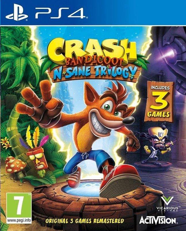 Image pour PS4 Crash Bandicoot N Sane Trilogy + 2 Bonus Levels FR à partir de DreamLand