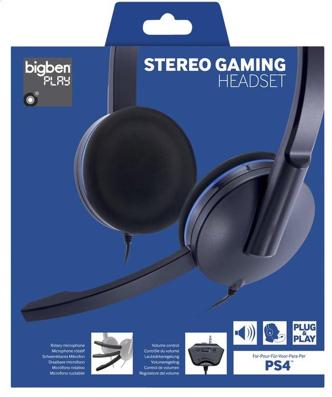 Afbeelding van Bigben stereo headset voor PS4 zwart from DreamLand
