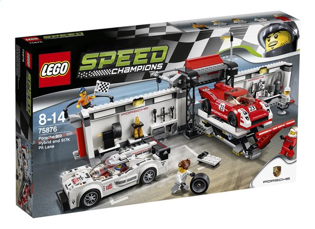Afbeelding van LEGO Speed Champions 75876 Porsche 919 Hybrid en 917K pitstraat from DreamLand