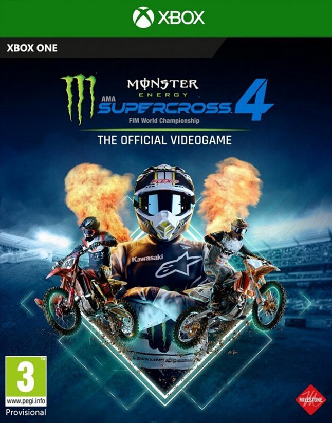 Xbox One Monster Energy Supercross 4 The official videogame NL/FR