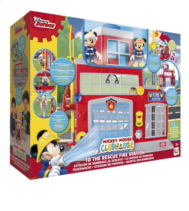 Image pour Set de jeu La Maison de Mickey La caserne de pompiers à partir de DreamLand