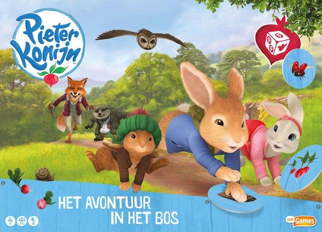Pieter Konijn - Het avontuur in het bos
