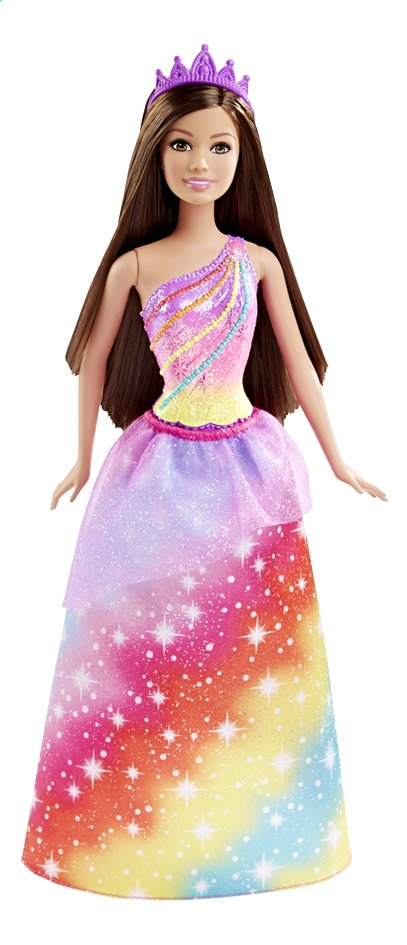 Afbeelding van Barbie mannequinpop Fairytale Princess Rainbow from DreamLand