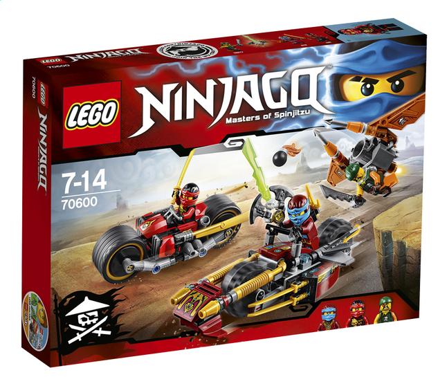 Image pour LEGO Ninjago 70600 Ninja La poursuite en moto des Ninja à partir de DreamLand