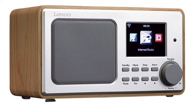 Image pour Lenco radio Internet DIR-100 Wood Brown à partir de DreamLand