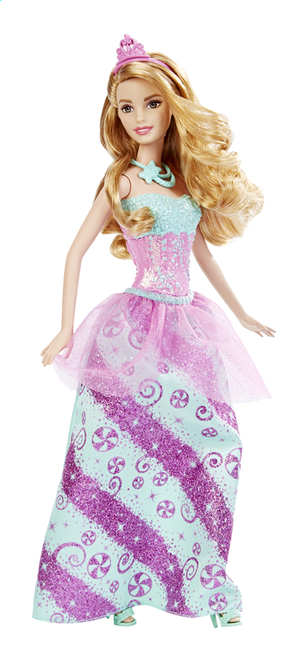 Afbeelding van Barbie mannequinpop Fairytale Princess Candy from DreamLand