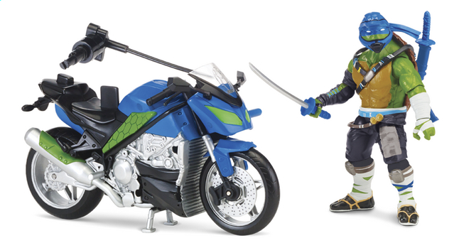 Afbeelding van Speelset Teenage Mutant Ninja Turtles: Out of the Shadows moto en Leo from DreamLand