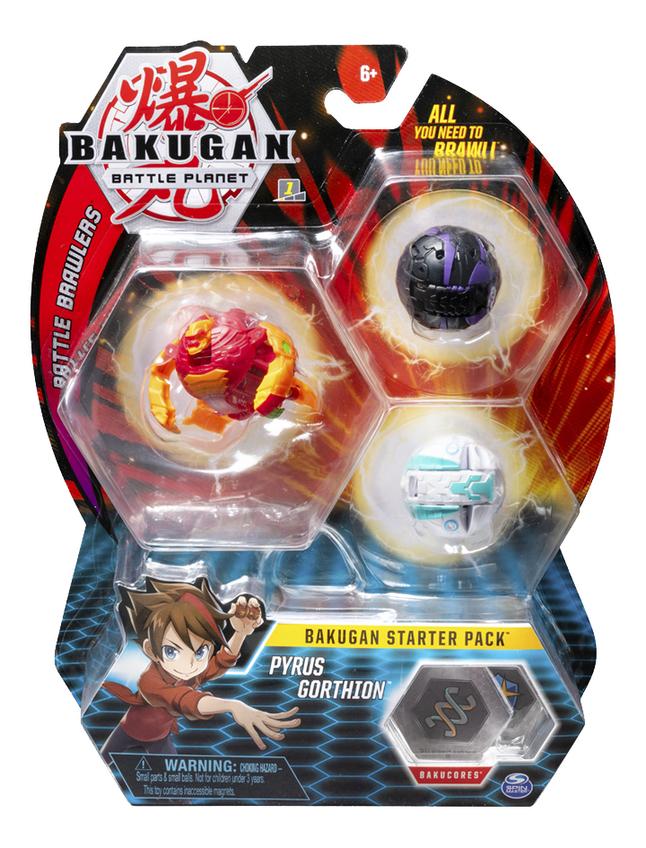 Afbeelding van Bakugan Starter 3-Pack - Pyrus Gorthion from DreamLand