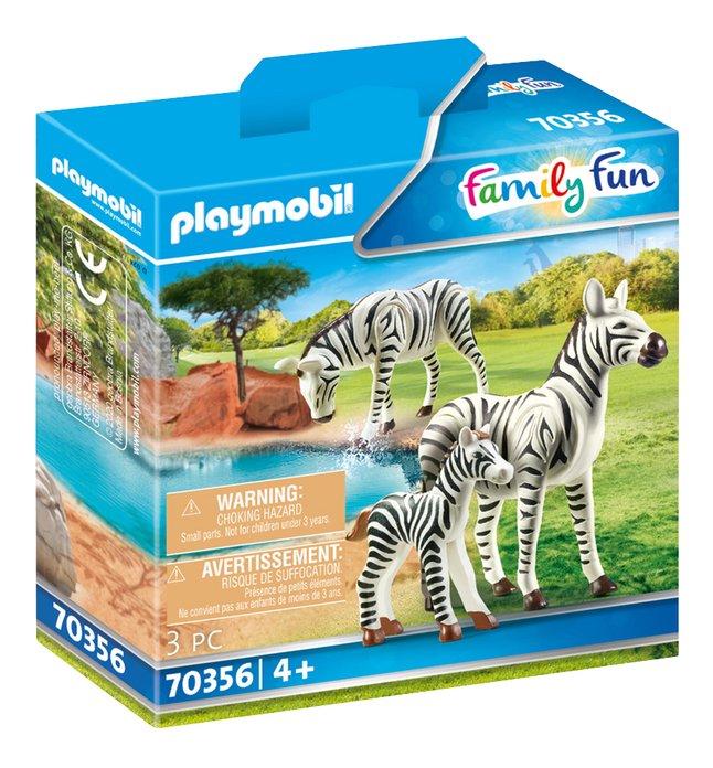 PLAYMOBIL Family Fun 70356 Zebra's met baby