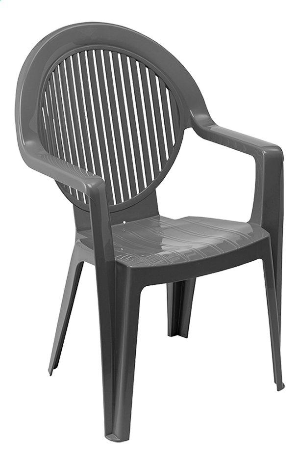 Grosfillex chaise de jardin Fidji anthracite