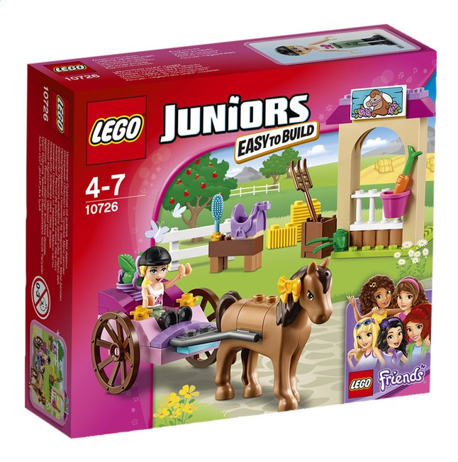Afbeelding van LEGO Juniors 10726 Stephanies koets from DreamLand