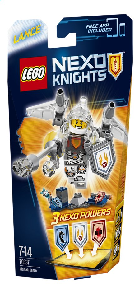 Afbeelding van LEGO Nexo Knights 70337 Ultimate Lance from DreamLand