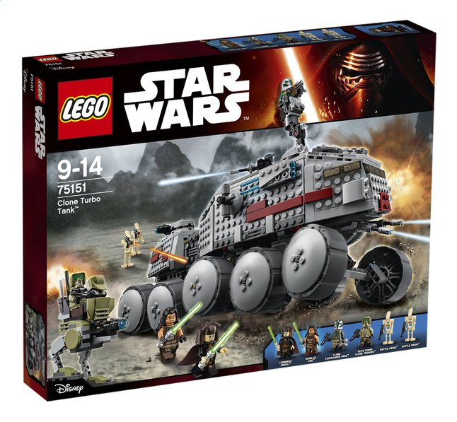 Afbeelding van LEGO Star Wars 75151 Clone Turbo Tank from DreamLand