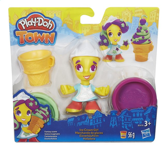 Afbeelding van Play-Doh Town Ice Cream Girl from DreamLand