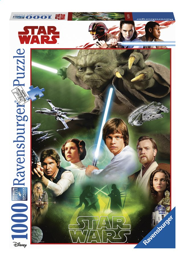 Afbeelding van Ravensburger puzzel Disney Star Wars Classic Collection 5 - Jedi from DreamLand