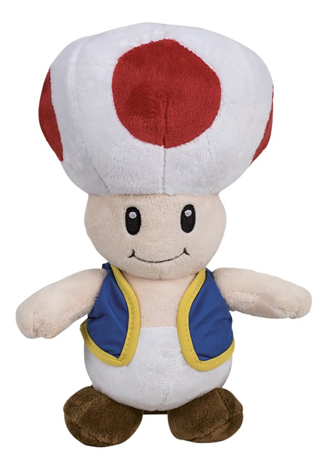 Peluche Mario Bros - Toad 36 cm
