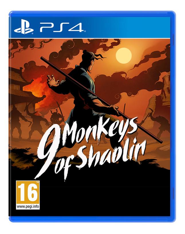 PS4 9 Monkeys of Shaolin ENG/FR