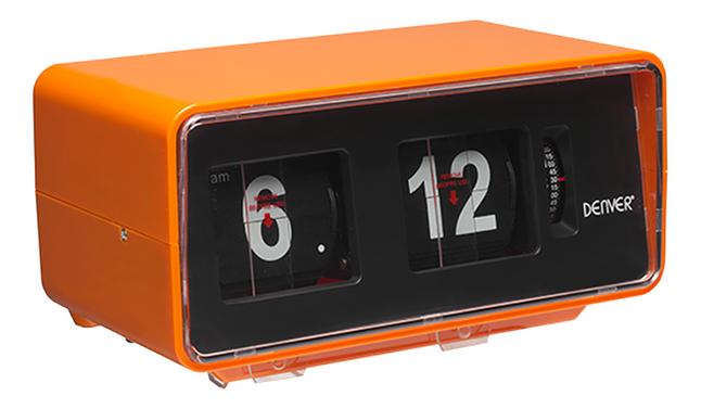 Image pour Denver radio-réveil rétro CR-425 orange à partir de DreamLand