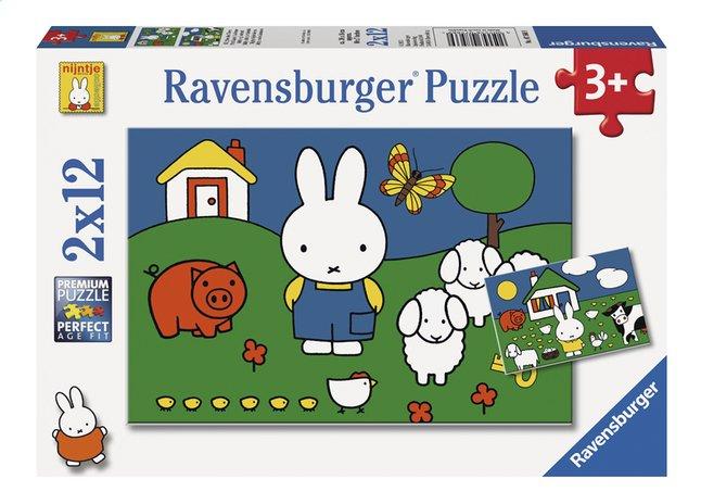Afbeelding van Ravensburger puzzel 2-in-1 Nijntje bij de dieren from DreamLand