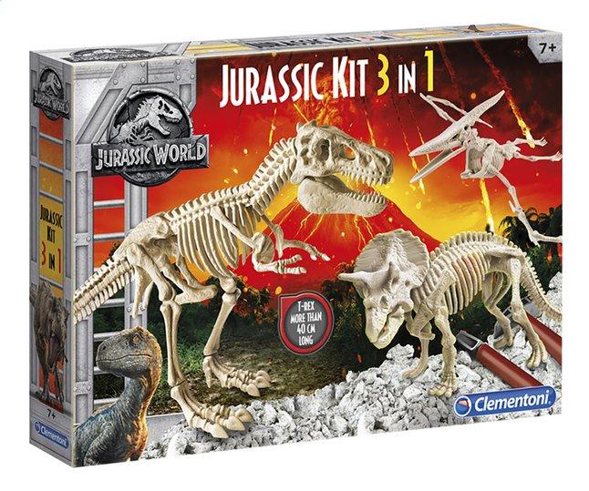 Afbeelding van Clementoni Jurassic World - Fallen Kingdom Jurassic Kit 3-in-1 from DreamLand