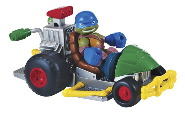 Afbeelding van Speelset Teenage Mutant Ninja Turtles Half Shell Heroes Patrol Buggy with Racer Leo from DreamLand