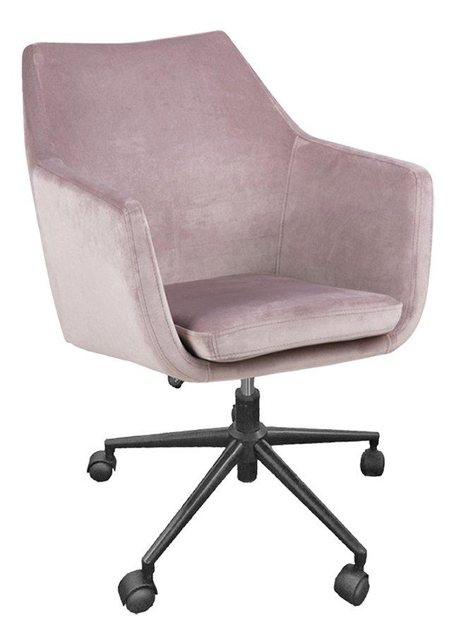 Bureaustoel Nora roze