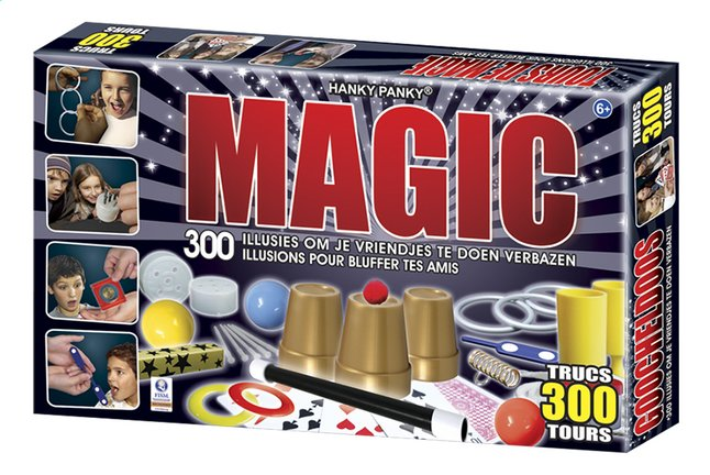 Afbeelding van Hanky Panky goocheldoos Magic 300 trucs from DreamLand