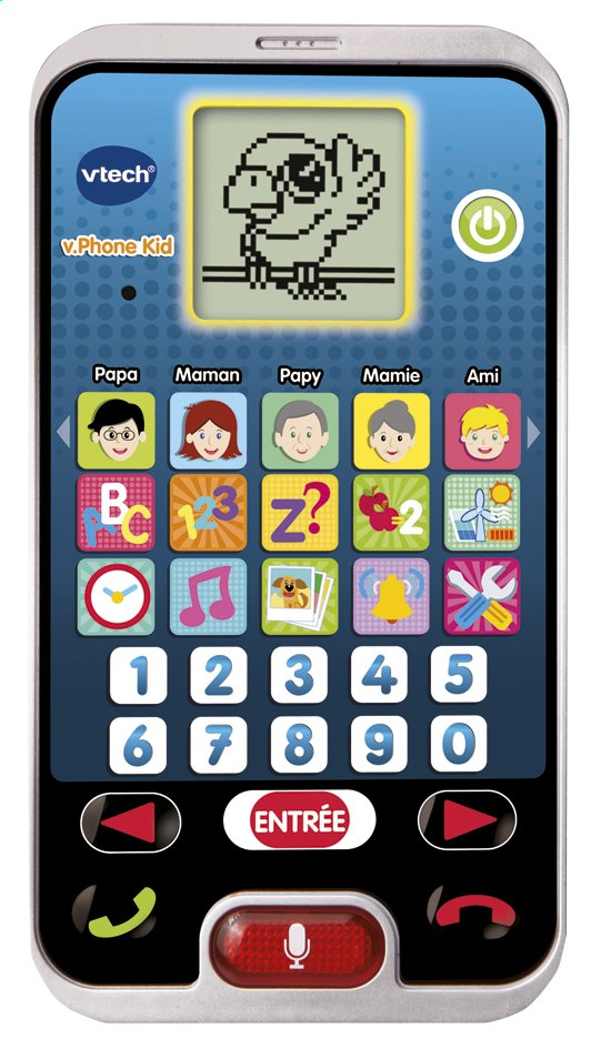Afbeelding van VTech smartphone v.Phone Kid FR from DreamLand