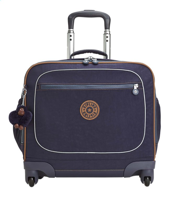 4795ec1afe4 Afbeelding van Kipling trolley-boekentas Manary Blue Tan Block 42 cm from  DreamLand