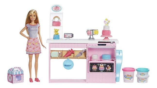 Barbie speelset Banketbakkerij