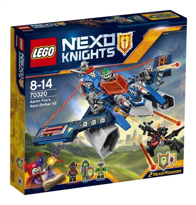 Image pour LEGO Nexo Knights 70320 L'Aero Striker V2 d'Aaron Fox à partir de DreamLand
